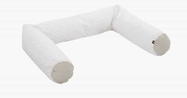 Nestchenschlange - Graphic taupe 40331608-9448-180cm