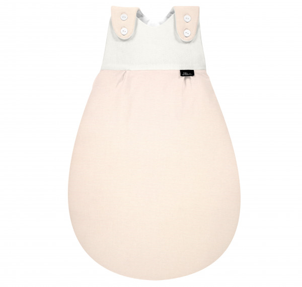 Baby-Mäxchen® Außensack SuperSoft - Rose Stripe 209N30517B-302