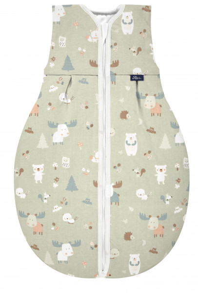 Kugelschlafsack Molton Thermo - Baby Forest 209N30527-210