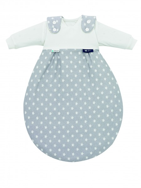 Baby-Mäxchen® Tencel® (3-tlg.) - Stars silber 443te608-6089-50/56