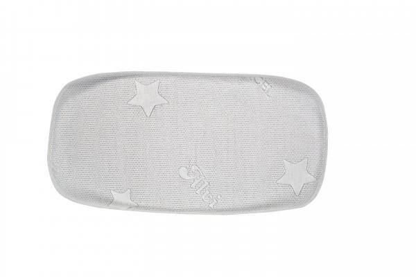 Auflage Schlummernestchen (Tencel) - Stars silber