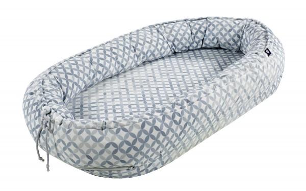 Schlummernestchen - Mosaik Grau