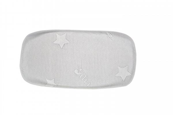 Auflage Schlummernestchen (Tencel®) - Stars silber 209N33304-6089