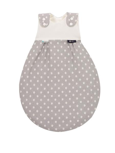 Baby-Mäxchen® Außensack Tencel® - Stars silber 209N30516-6089