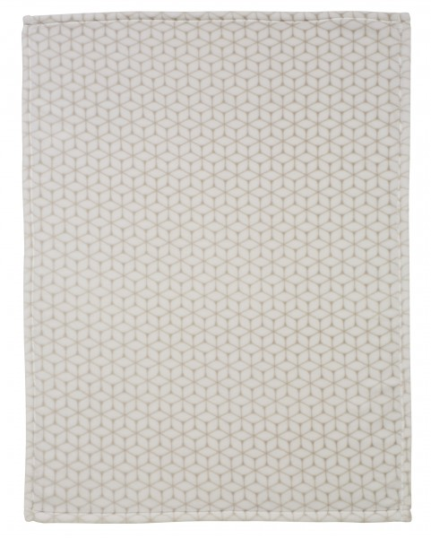 Babydecke Jersey - Graphic taupe 209N30001-9458